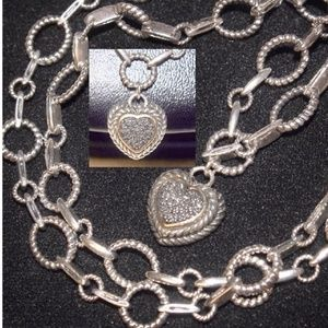 Rhodium-plated 925 Silver I Love My Engineer Pendant with 18 Necklace Jewels Obsession Silver I Love My Engineer Necklace
